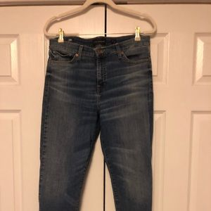 Lucky brand Ava super skinny ankle jeans